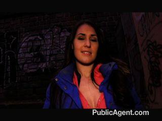 Publicagent - British Brunette Jess Fucking