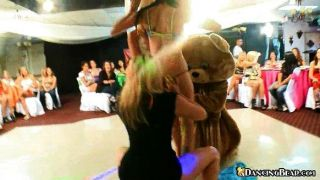 Babes Get Naked Then Dance On Bear