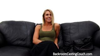 Babe Assfucked On A Casting