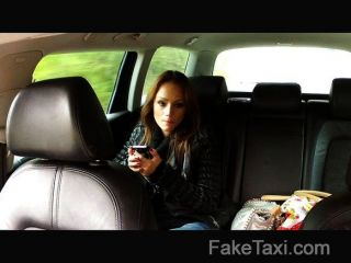 Faketaxi - Hungarian Brunette Fucks Big Cock