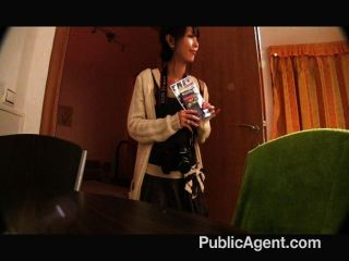 Publicagent - Tiny Japanese Pussy Pounded