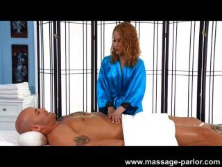Mae Olsen Loves To Massage Cock
