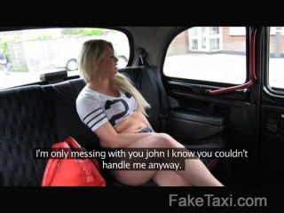 Faketaxi - Cock Hungry Blonde In Taxi Anal