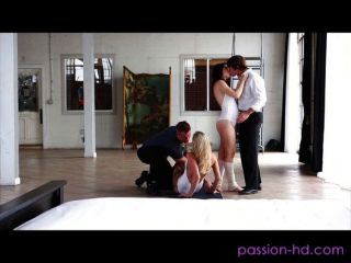 Mia Malkova Entangled In A Foursome