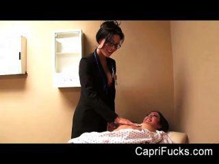 Capri Cavanni Fucks Her Lesbian Doctor