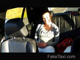 Faketaxi - Backseat Sex On Public Roadside