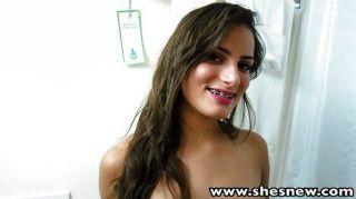 Girlfriend Pov Bathroom Blowjo