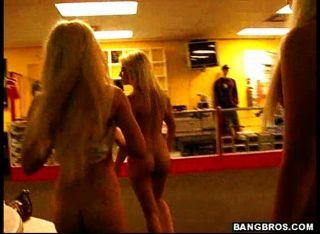 Blond Hard Rock Chicks Humping