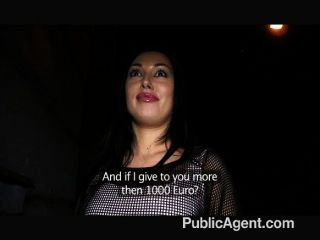 Publicagent - Big Tits And Ass Fucked On Toilet