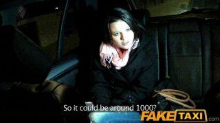 Faketaxi - Cute Barmaid Sucks Taxi Cock