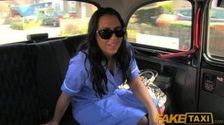 Faketaxi - British Nurse Fucks Taxi Driver