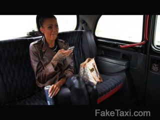 Faketaxi - Free Ride For Backseat Blowjob