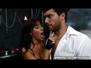 Crazy Hot Dominatrix Starts A Threesome