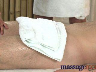 Massage Rooms - Horny Blonde Masseuse Fucked