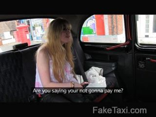 Faketaxi - Hairy Pussy Takes On Big Cock