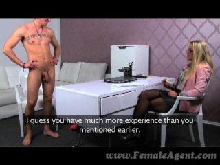 Femaleagent - Stud Cums In Milfs Mouth