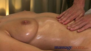 Massage Rooms - Big Natural Tits Oiled Up