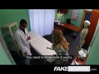 Fake Hospital - Gorgeous Blonde Sales Rep