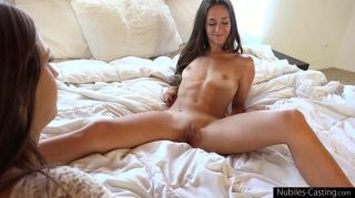 Nubiles casting tiny tit babe tries out for porn hardcore tmb