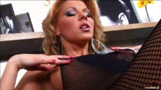 Cindy Hope Footjob In Bodystocings
