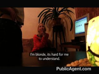Sexy Blonde Porn Fan Eva Rides Me