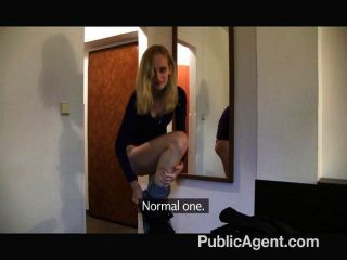 Publicagent skinny shy blonde fucked in a hotel room for cash 10
