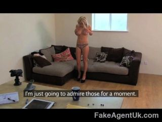 Fakeagentuk - Blonde Gives Amazing Blowjob