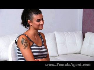 Femaleagent - Amazing First Lesbian Casting