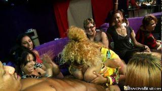 Wild Cfnm Dick Sucking Party