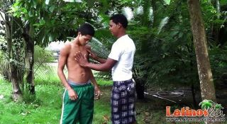 Latin Mates Get Together For Oral Fun