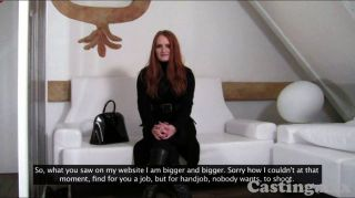Castingxxx Amazing Redhead Goes All The Way