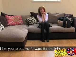Fakeagentuk - Brit Girl First Anal On Camera