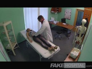 Fakehospital - Sexy British Patient Swallows