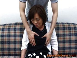 Mature Nihonjin Woman Getting