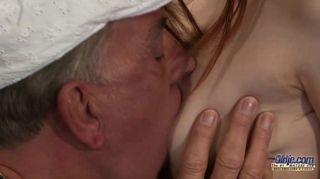 Horny Grandpas Foursome With Two Young Sluts