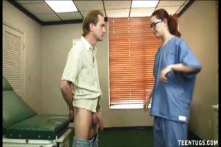 Naughty Doctor Handjob