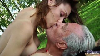 Old men having oral sex