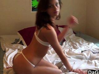 Hot Girl Next Door Cums On Her Toy