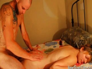 A Good Massage Then A Hardcore Fucking