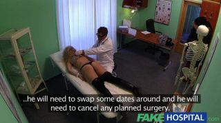 Fakehospital - Cheating Blonde Suck And Fucks