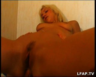 French Blonde Girl Gets Anal Sex On The Bed