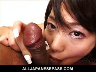 Cock Sucking Japanese Milf Gets Filled With Cum