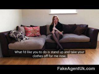 Fakeagentuk - Sexy Fetish Girl Has Great Tits