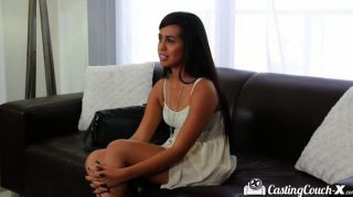 Castingcouch-x Shy Dark Skinned Beauty