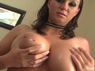 Sara Stone Oiled Up And Tit-fucked