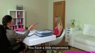 Femaleagent - Milf Has A Wet Spot For Blondes