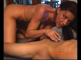 Milf Mom, Son And Daughter Have A 3 Way
