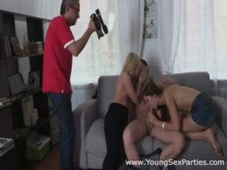 Young Sex Parties - Double Pleasure On A Double Date