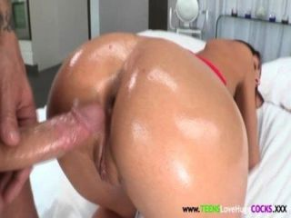 Young Busty August Ames Doggystyled