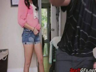 Megan Rain - 18 Year Old Step-sister Fuck